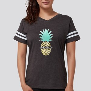 Alpha Sigma Tau Pineapple Womens Football Shirt