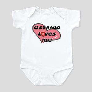 osvaldo loves me  Infant Bodysuit