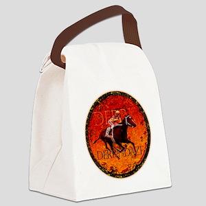 derby daze Canvas Lunch Bag