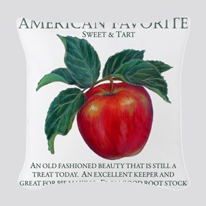 AMERICAN FAVORITE 10INCHES cop Woven Throw Pillow