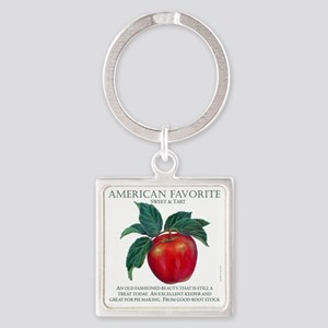 AMERICAN FAVORITE 10INCHES copy Square Keychain