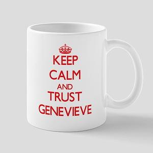 Keep Calm and TRUST Genevieve Mugs