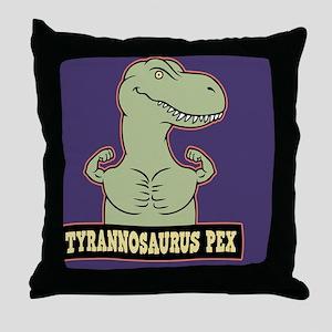 t-pex-CRD Throw Pillow