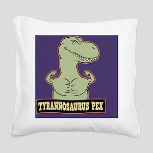 t-pex-CRD Square Canvas Pillow