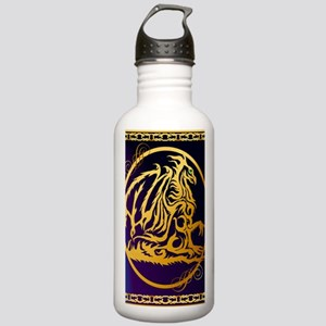 09-Large Posterr Gold  Stainless Water Bottle 1.0L