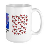 TOGETHER WE CAN MAKE A DIFFERENCE Large Mug
