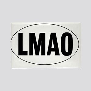 Oval-LMAO Rectangle Magnet
