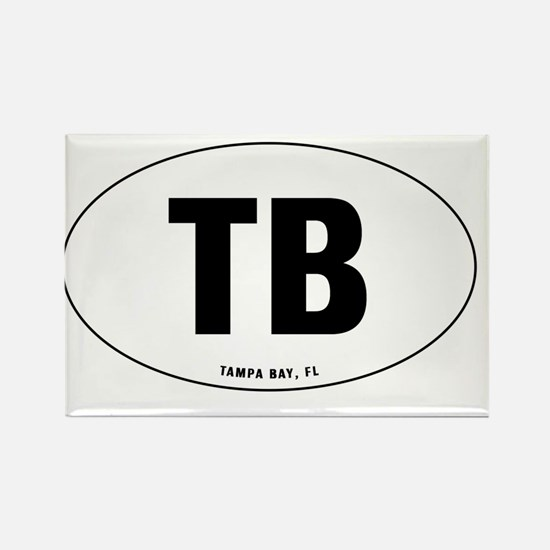 Oval-TB Rectangle Magnet