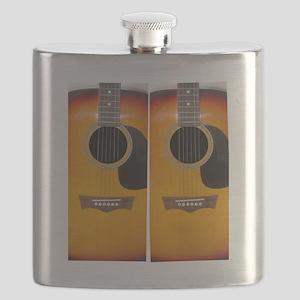 FlipFlops-Guitar Flask