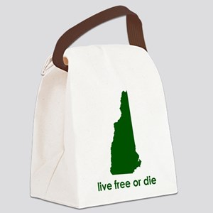NHgreen Canvas Lunch Bag
