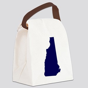 NHblue Canvas Lunch Bag