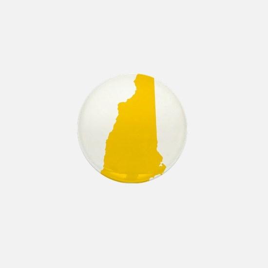 NHyellow Mini Button