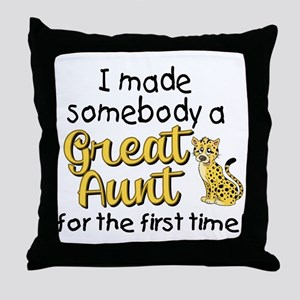 great aunt Throw Pillow