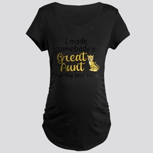 great aunt Maternity Dark T-Shirt