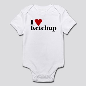 I love ketchup baby onesie