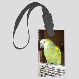 Amazon Parrot1100x1500 Large Luggage Tag