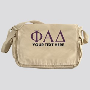 Phi Alpha Delta Personalized Messenger Bag
