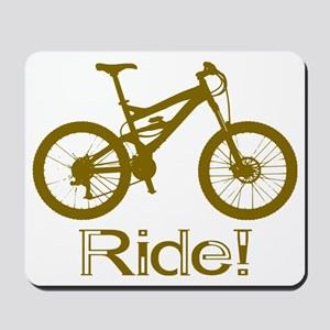 MTB-Ride-Brown Mousepad