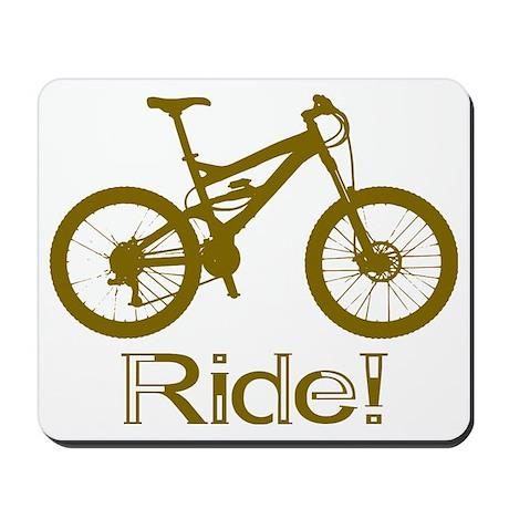 MTB-Ride-Brown Mousepad