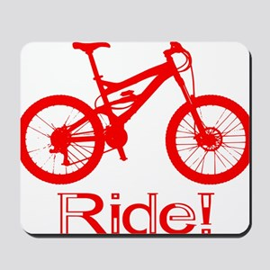 MTB-Ride-Red Mousepad