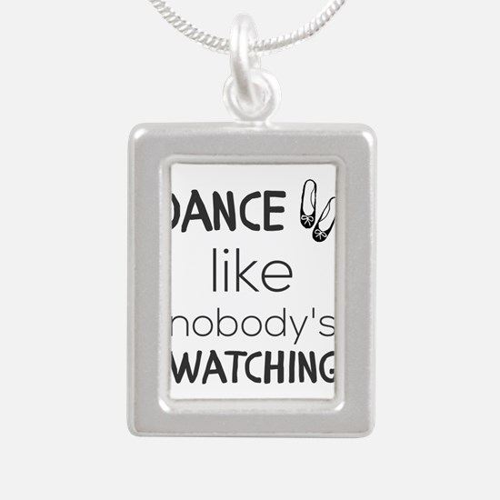 Dance like nobody's watching Necklaces