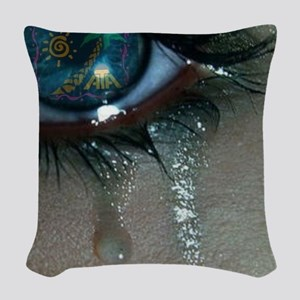 tears for ATA Woven Throw Pillow