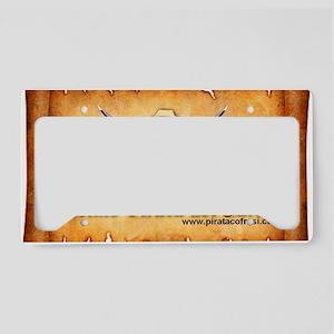 pergamino logo License Plate Holder
