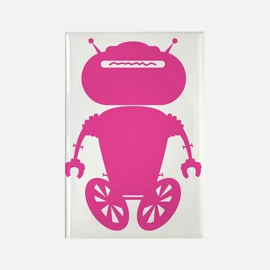 robotAntSolo_pink Rectangle Magnet