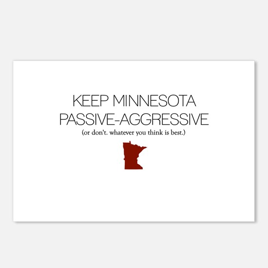Keep MN Passive-Aggressive Postcards (Package of 8