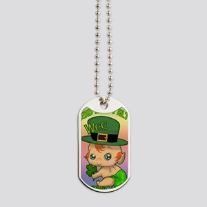 100-k-welcomes-baby-BANNER-VERTICAL Dog Tags