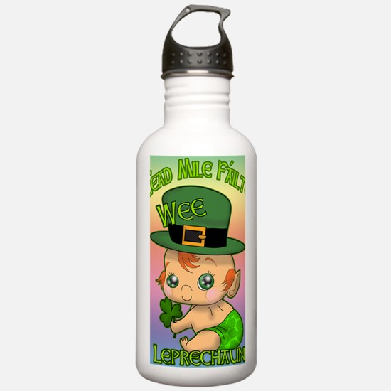 100-k-welcomes-baby-BA Water Bottle