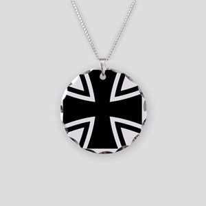 Bundeswehr_Logo Necklace Circle Charm