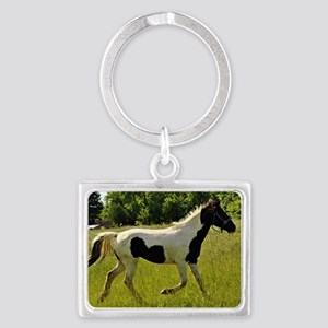 Spotted Horse Landscape Keychain
