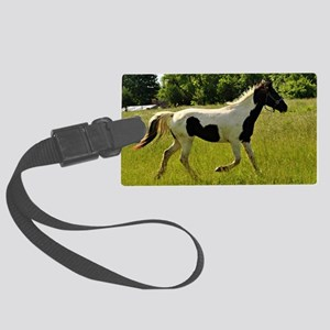 Spotted Horse Large Luggage Tag