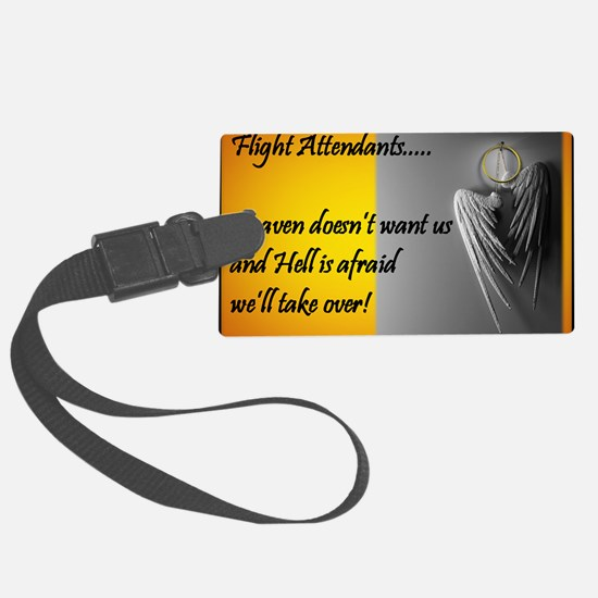 Heaven Hell FA GENERIC Large Luggage Tag