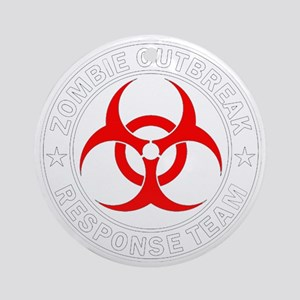 zombie-outbreak Round Ornament