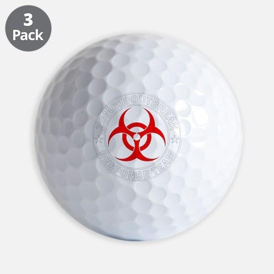 zombie-outbreak Golf Ball