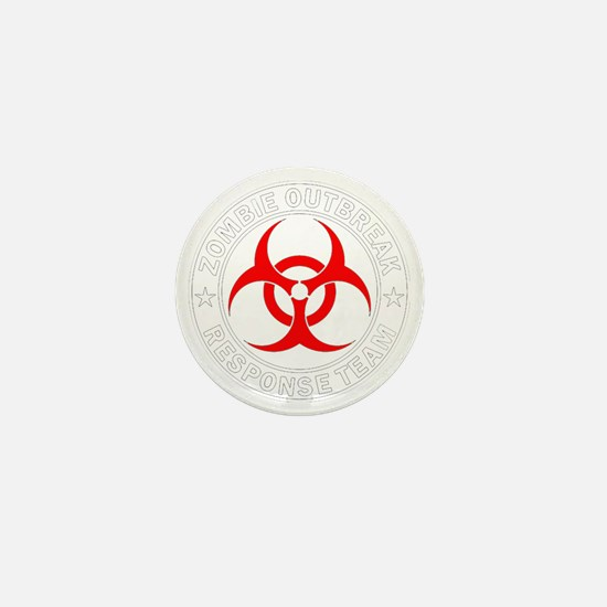 zombie-outbreak Mini Button
