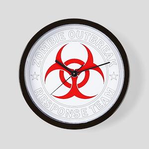 zombie-outbreak Wall Clock