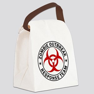zombie-outbreak-carmagnet Canvas Lunch Bag