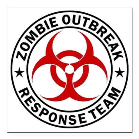 zombie outbreak response team car accessories cafepress Lalaloopsy Birthday Signs