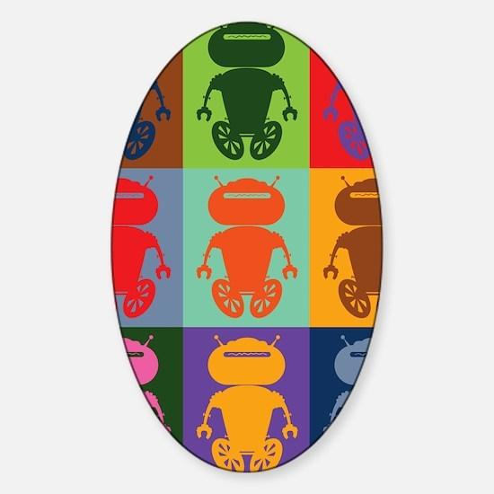 antbotJournal Sticker (Oval)