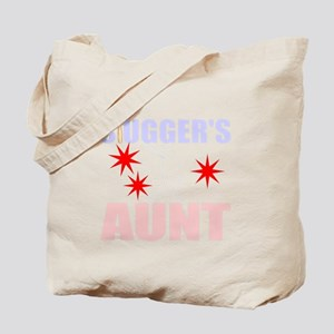 Proud Baseball aunt Tote Bag