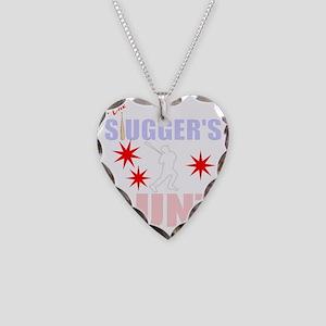 Proud Baseball aunt Necklace Heart Charm