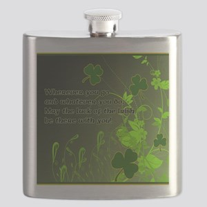 LUCK-OF-THE-IRISH-STADIUM-BLANKET Flask