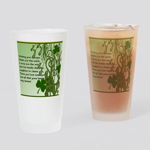 WISHING-YOU-ALWAYS-STADIUM-BLANKET Drinking Glass