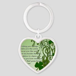 WISHING-YOU-ALWAYS-STADIUM-BLANKET Heart Keychain
