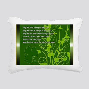 MAY-THE-ROAD-RISE-TO-MEE Rectangular Canvas Pillow