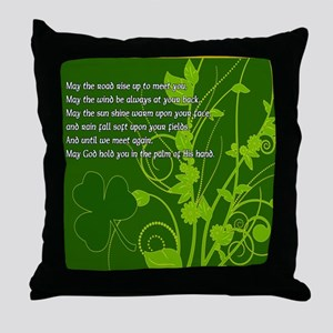 MAY-THE-ROAD-RISE-TO-MEET-YOU-STADIUM Throw Pillow