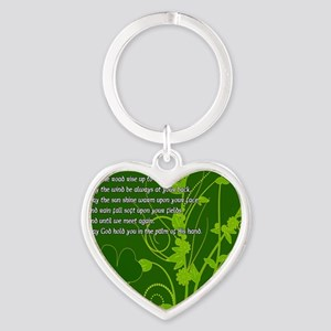 MAY-THE-ROAD-RISE-TO-MEET-YOU-STADI Heart Keychain